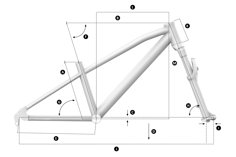 Mondraker Leader 24 Geometry