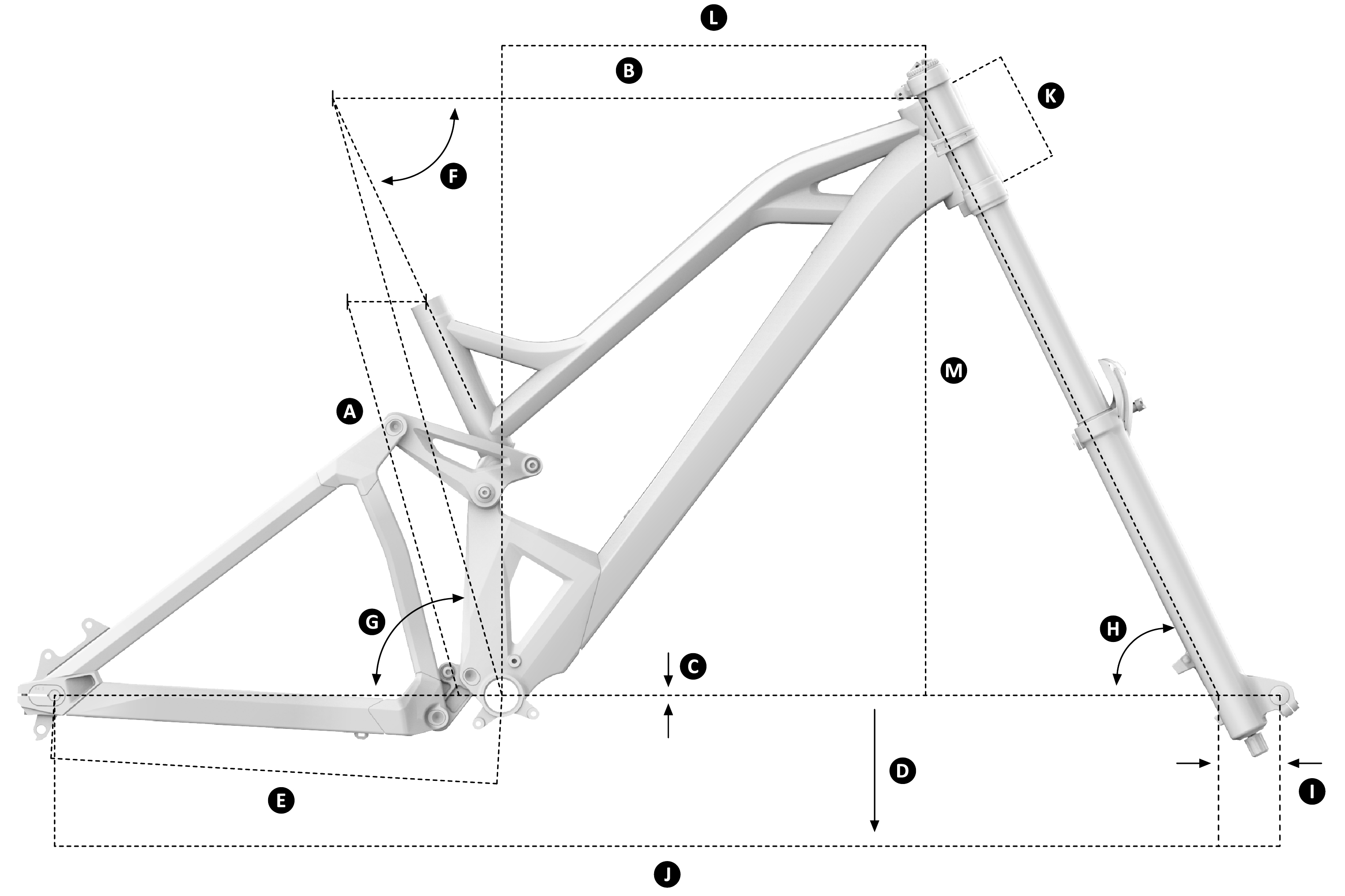 Mondraker Summum Alloy Geometry