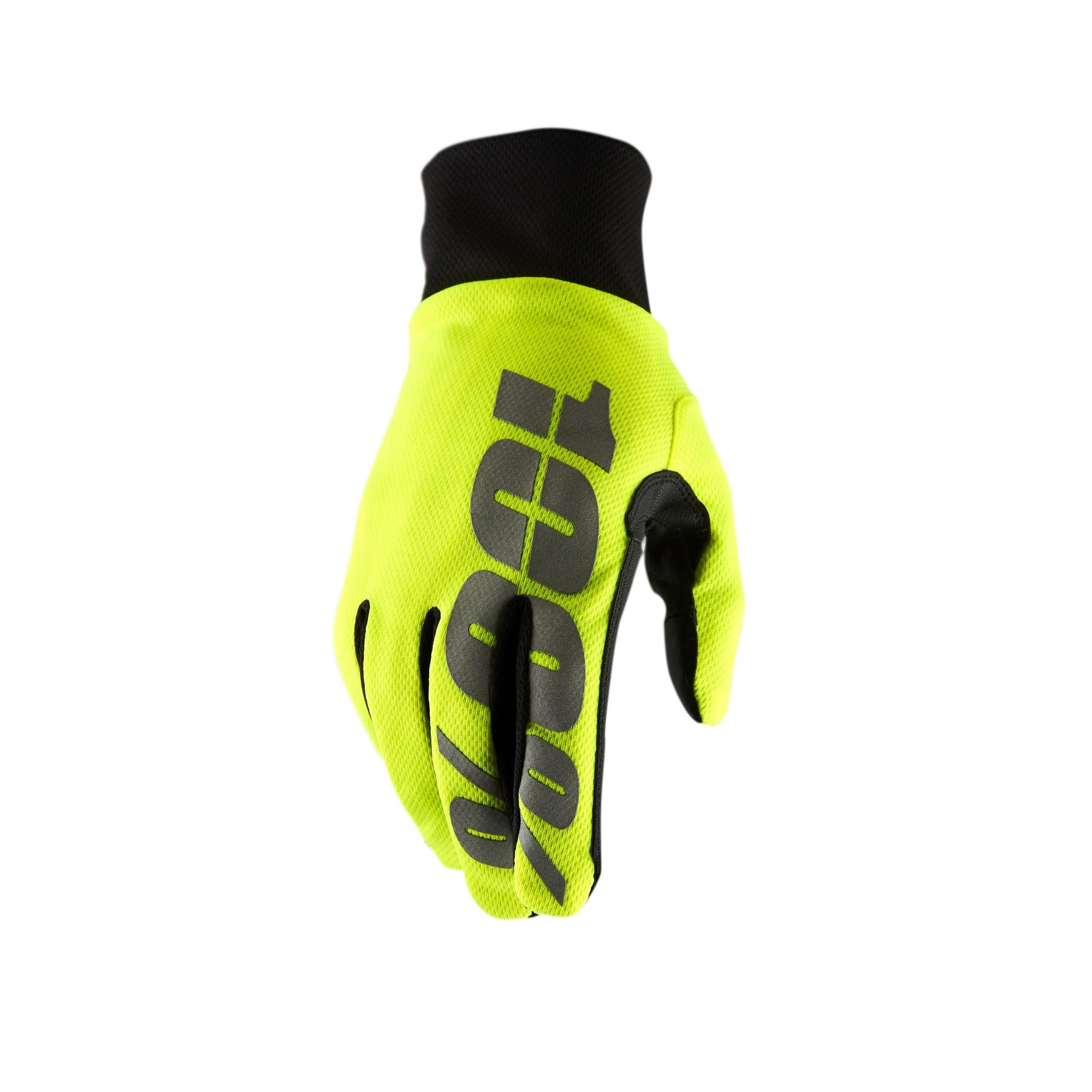 HYDROMATIC Waterproof Glove Neon Yellow