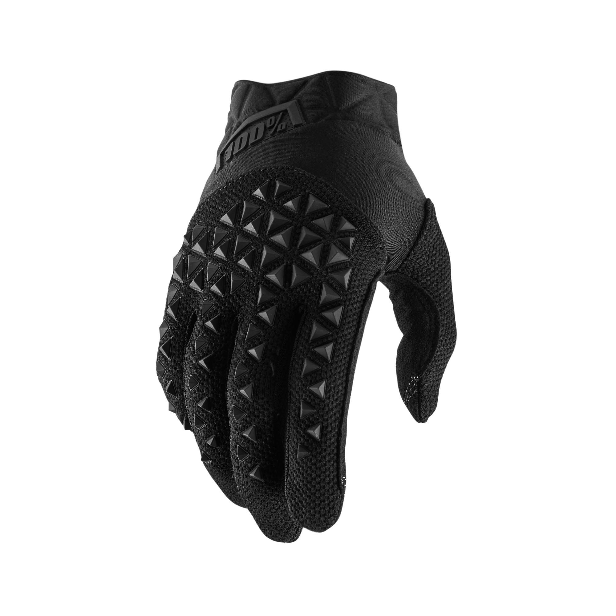 AIRMATIC 100% Glove Black/Charcoal