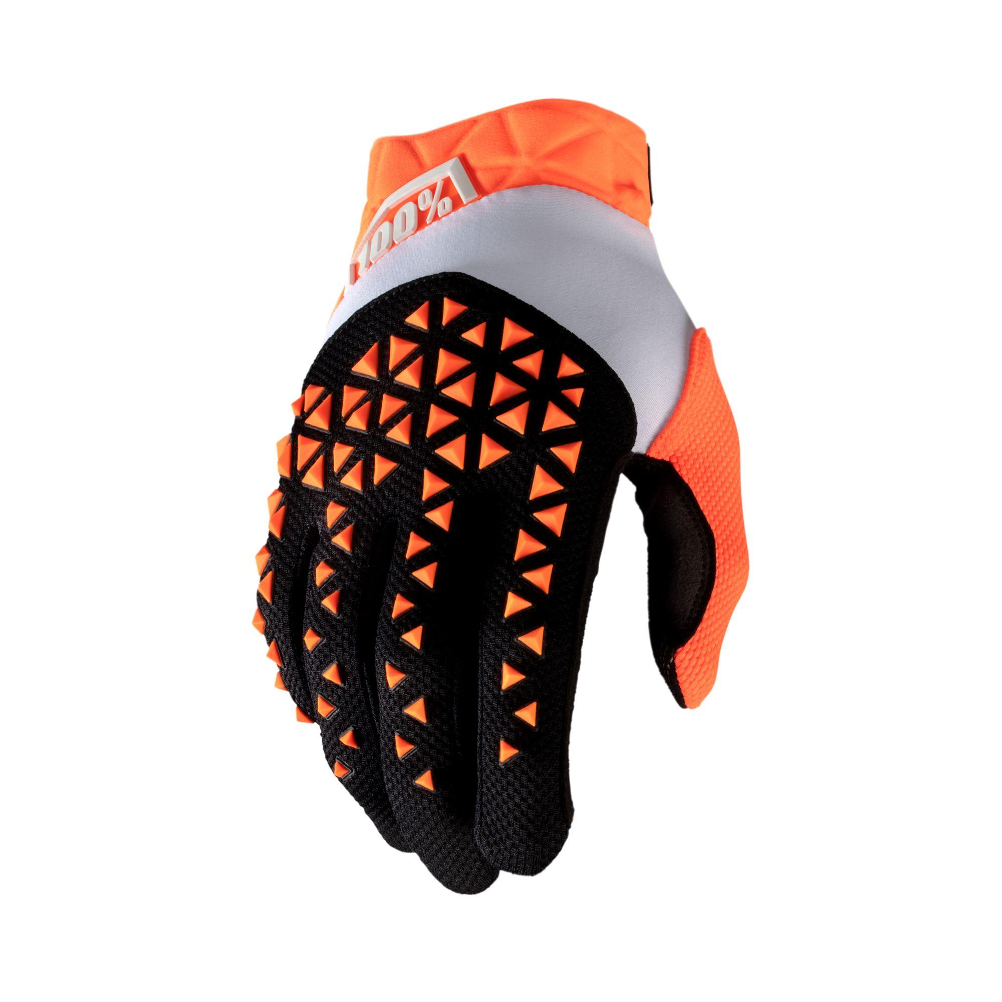 AIRMATIC Glove Orange/Black