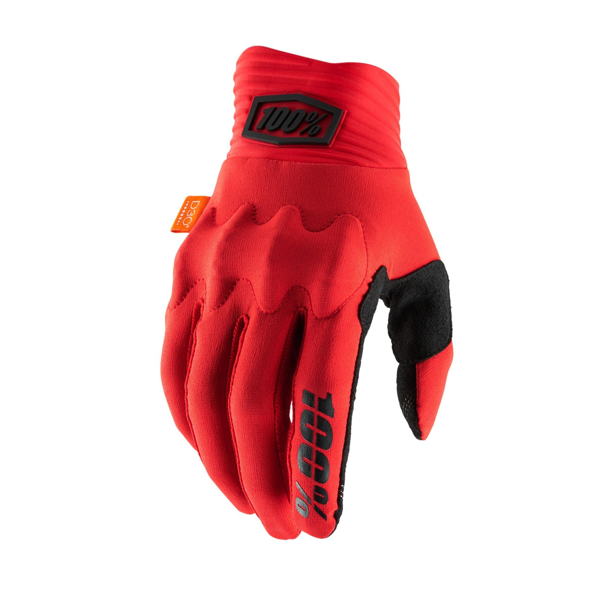COGNITO 100% Glove Red/Black
