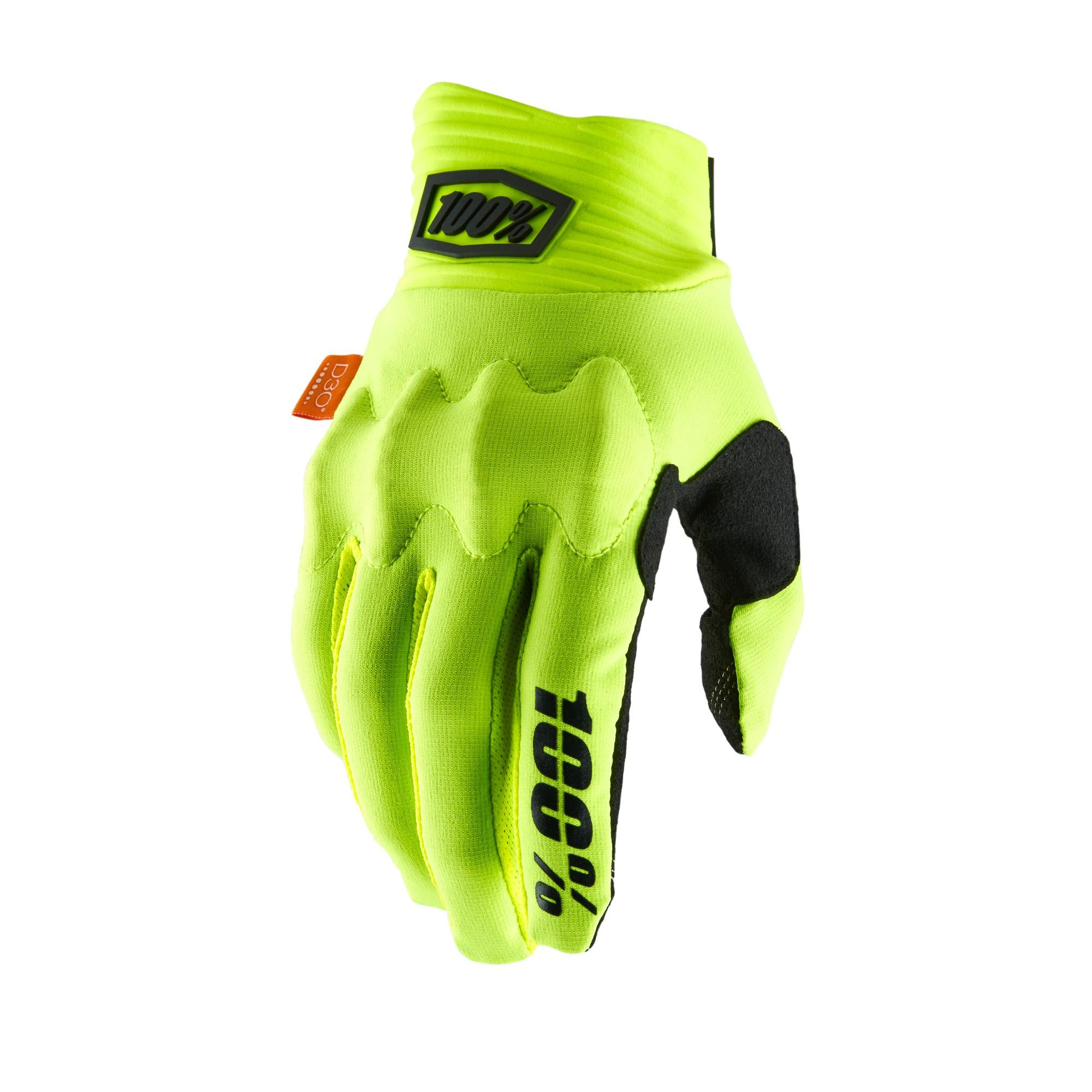 COGNITO 100% Glove Fluo Yellow/Black