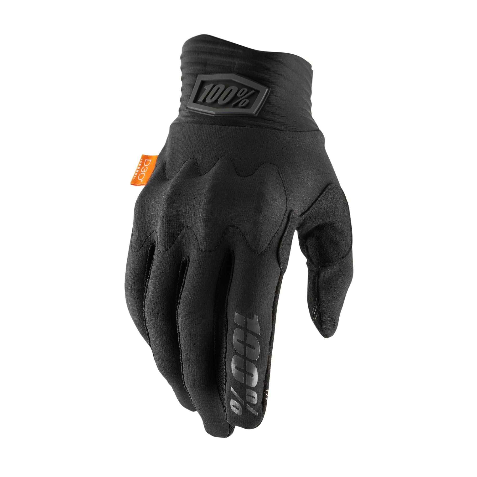 COGNITO 100% Glove Black/Charcoal