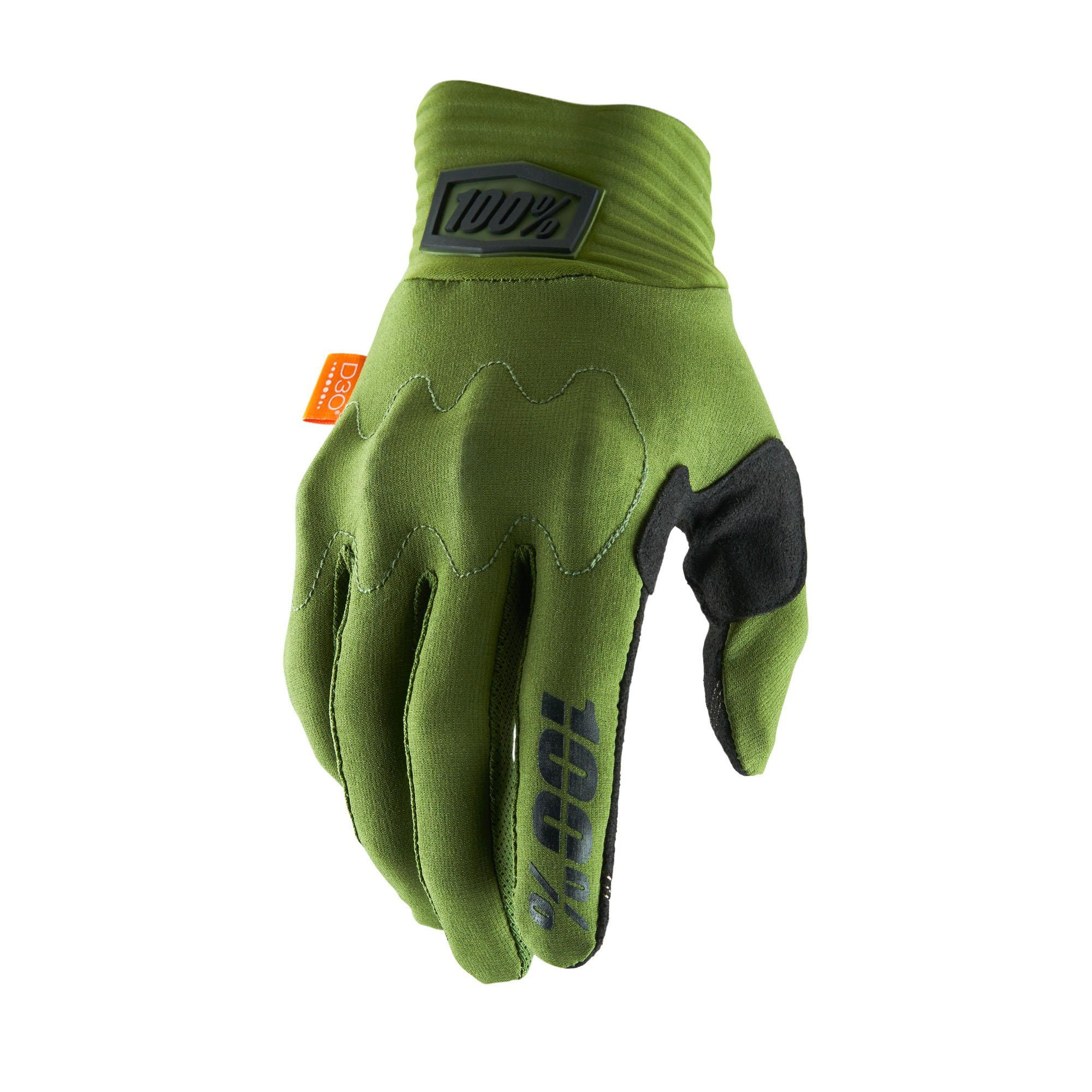 COGNITO 100% Glove Army Green/Black