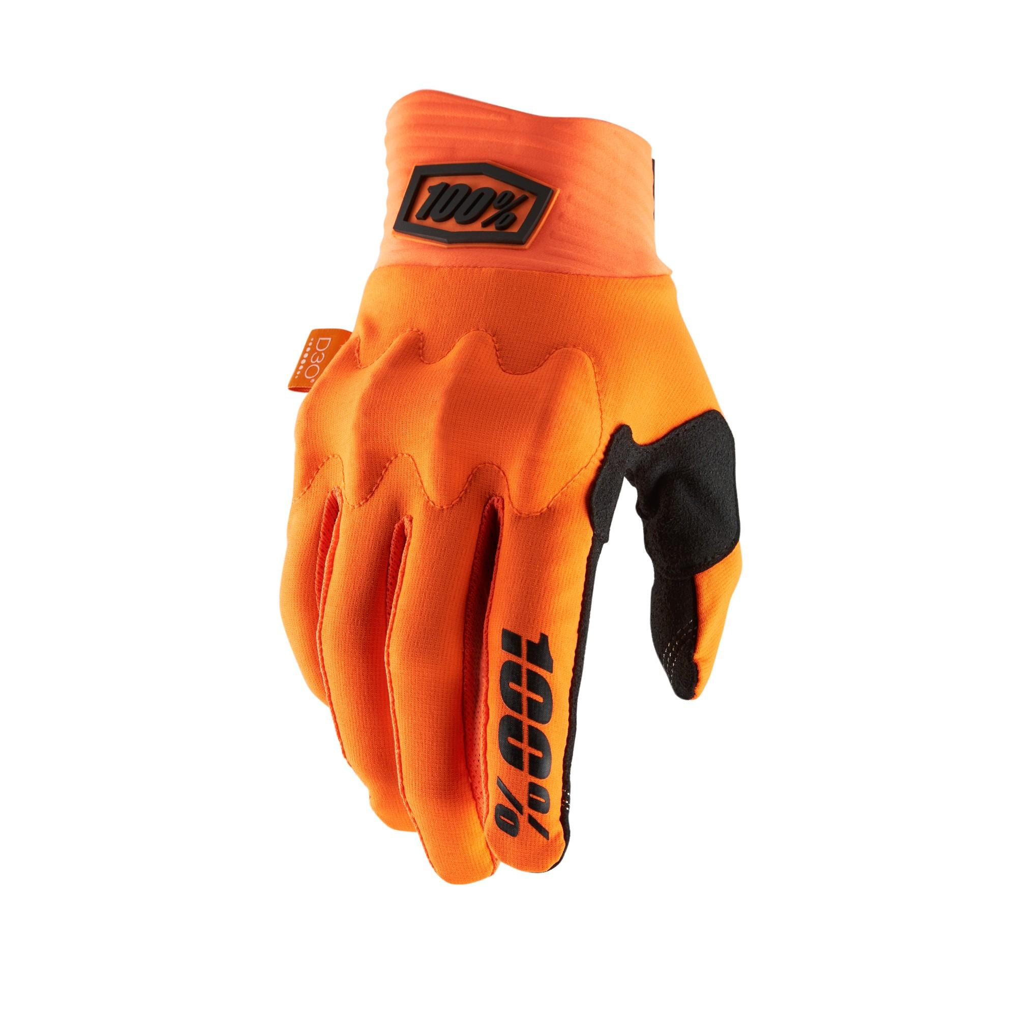 COGNITO 100% Glove Fluo Orange/Black