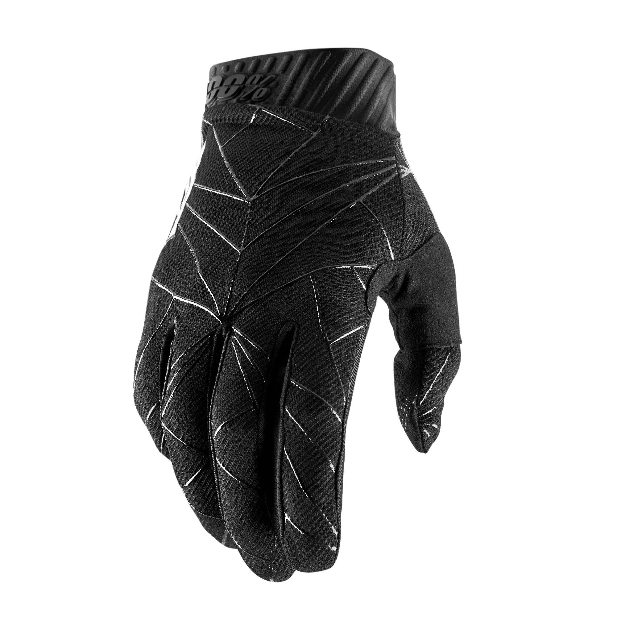 RIDEFIT 100% Glove Black/White