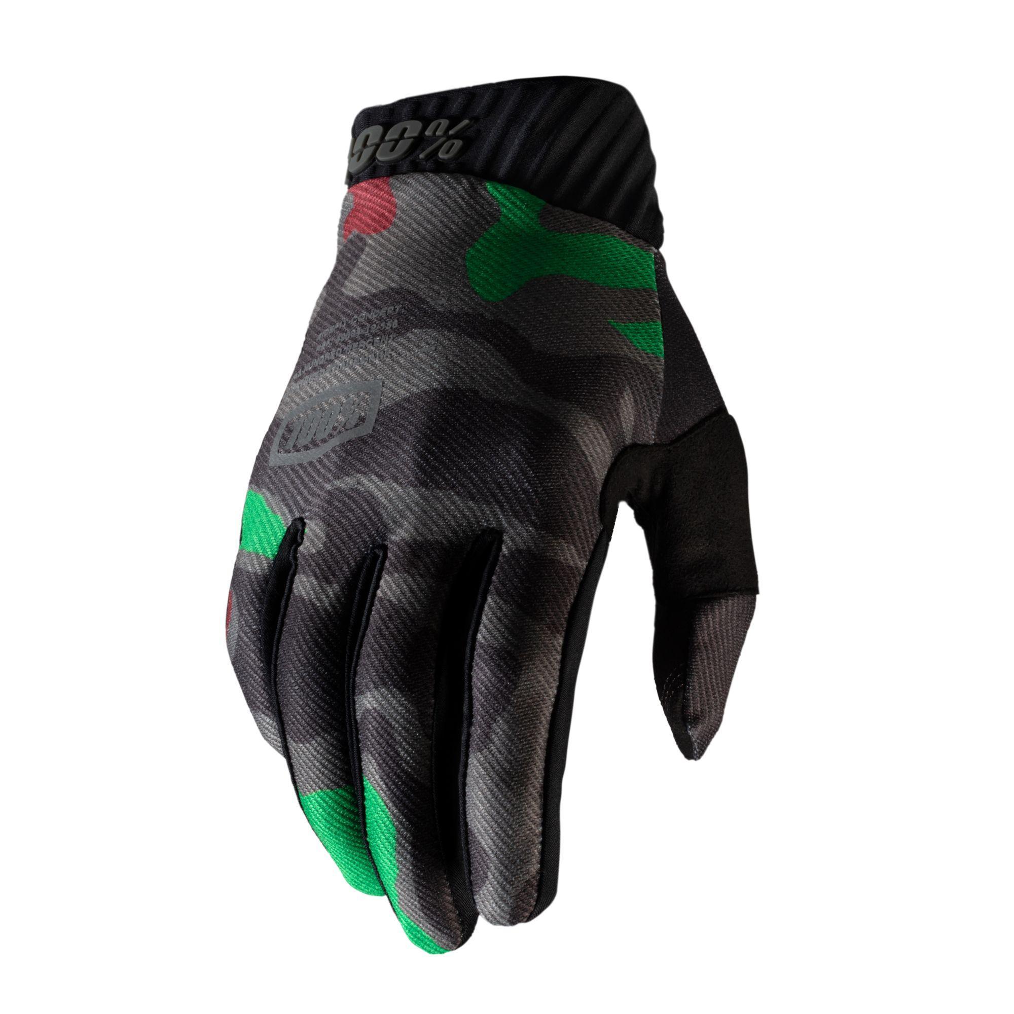 RIDEFIT Glove Black Camo