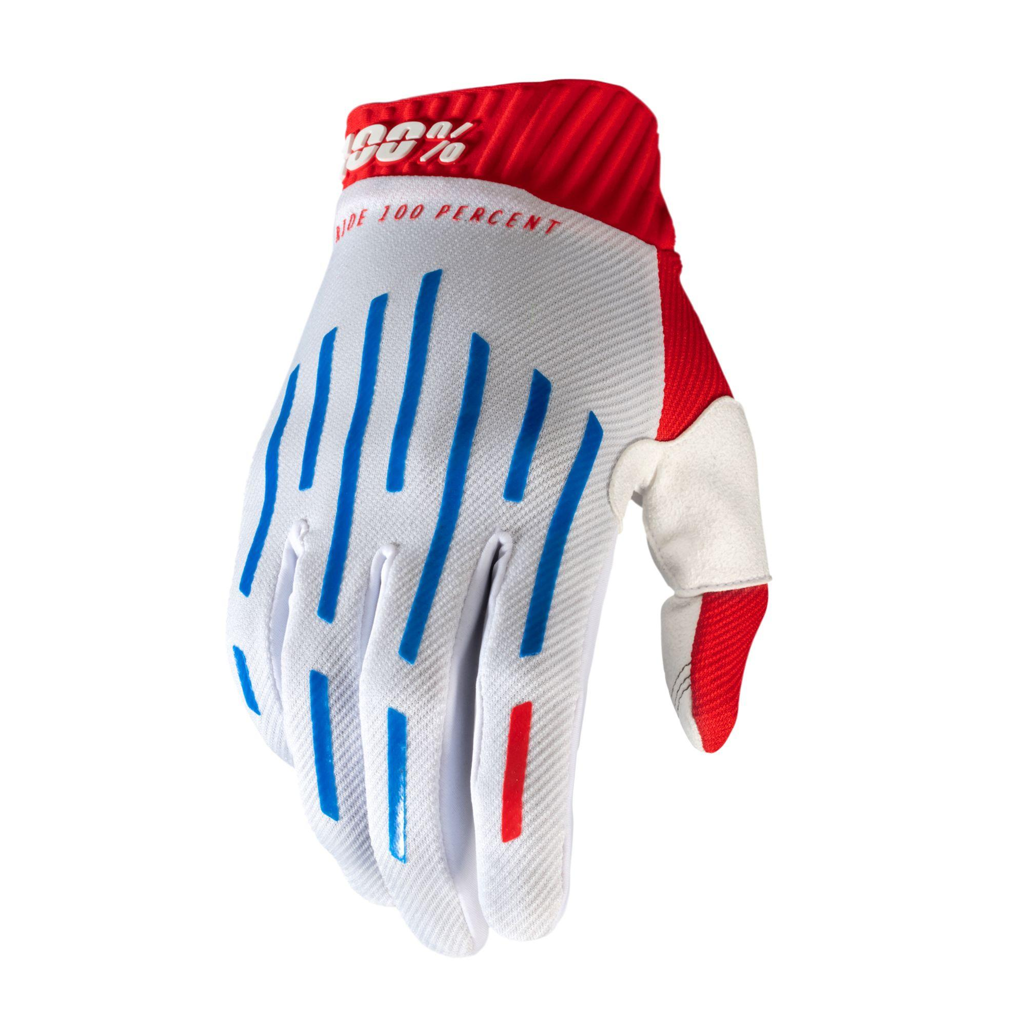 RIDEFIT Glove Red/White/Blue