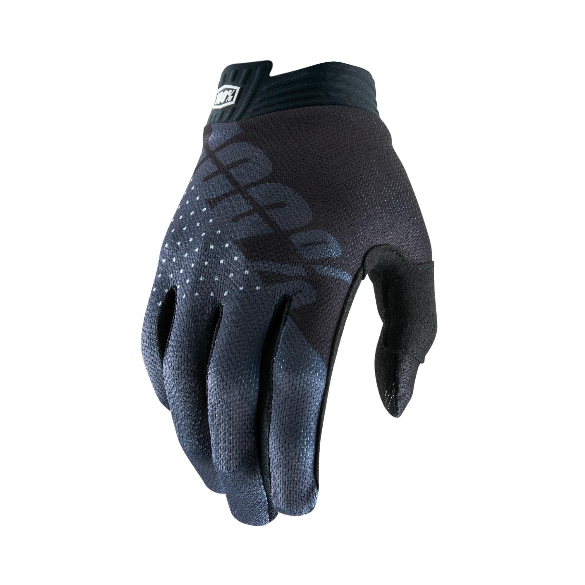 iTRACK 100% Glove Black/Charcoal