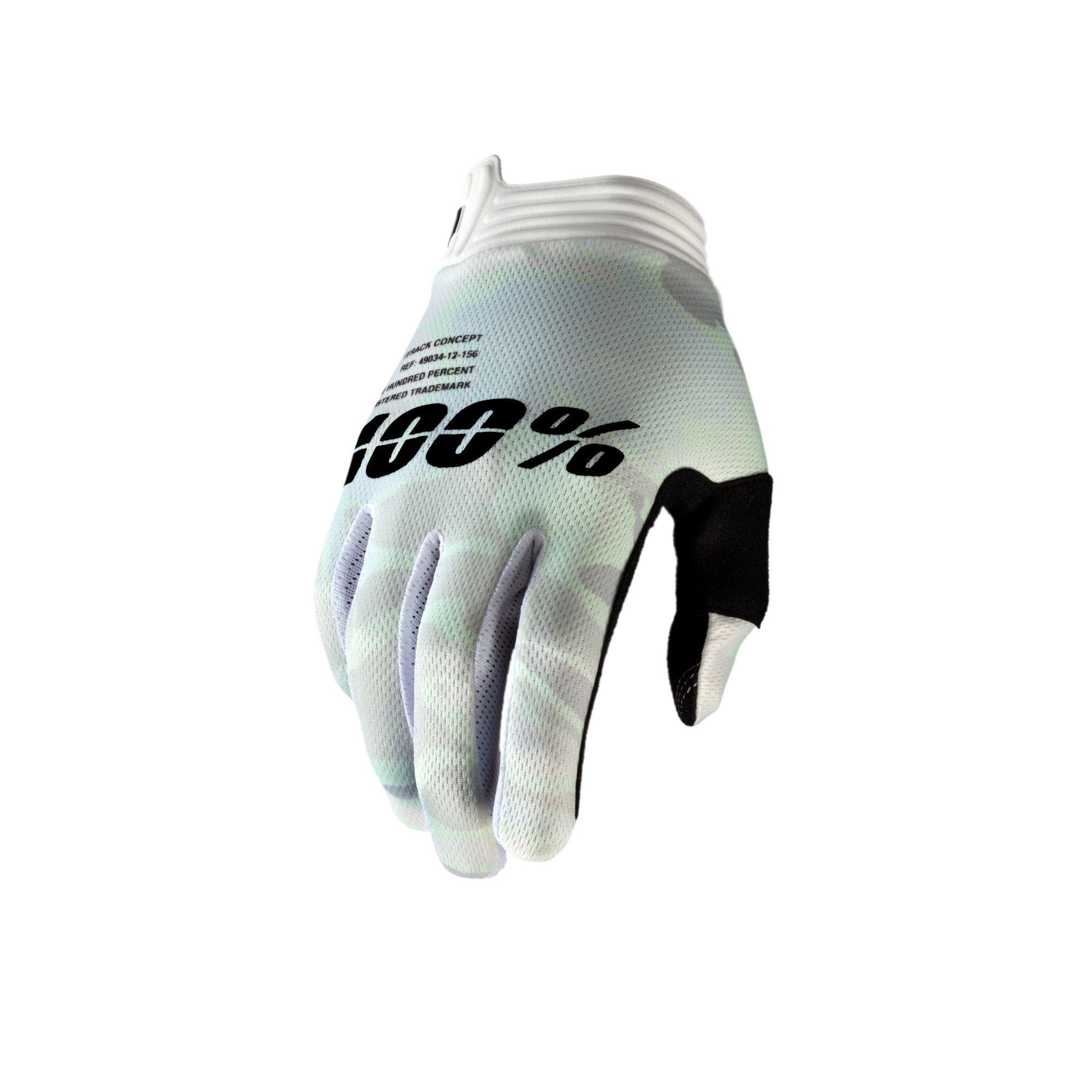 iTRACK Glove White Camo