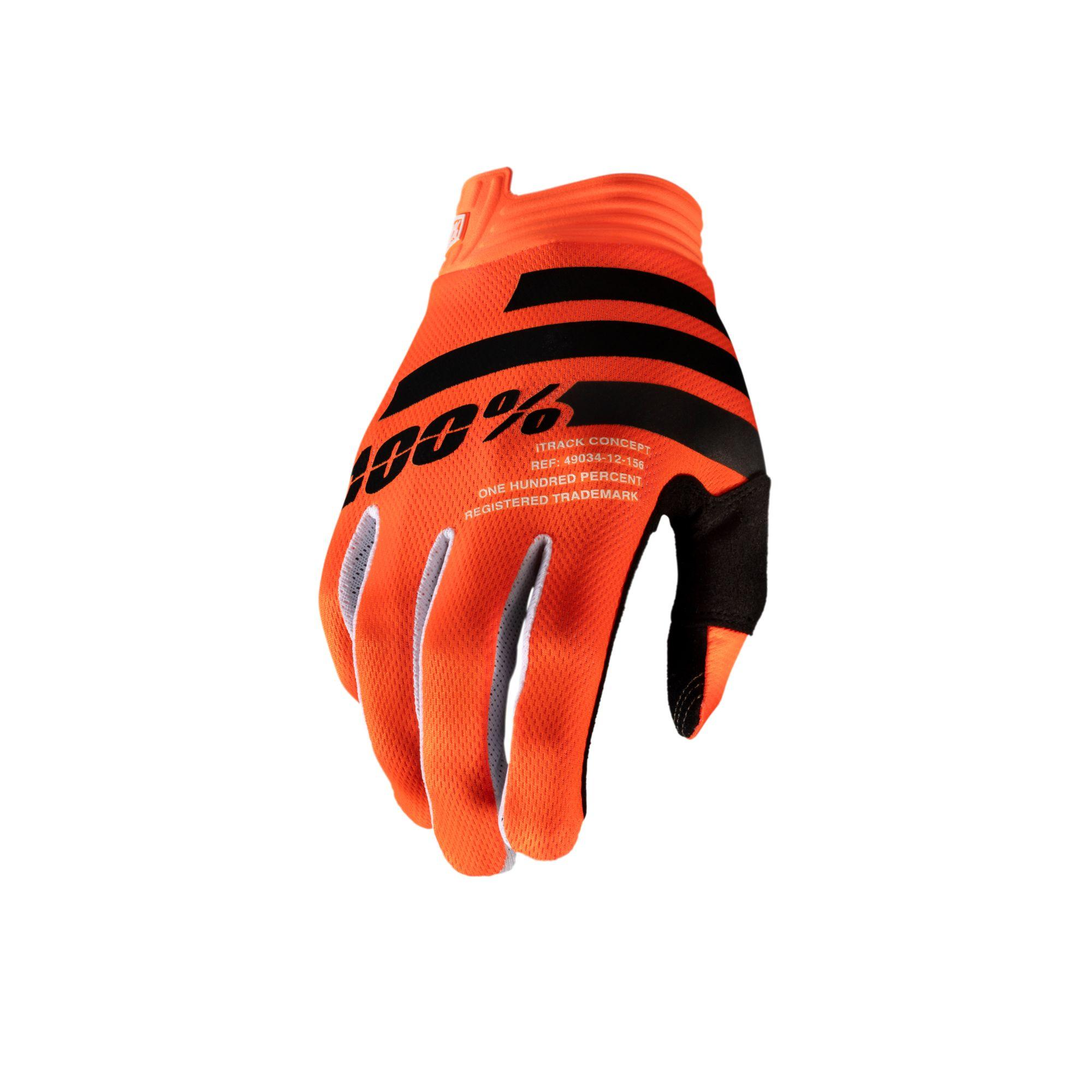 iTRACK Glove Orange/Black