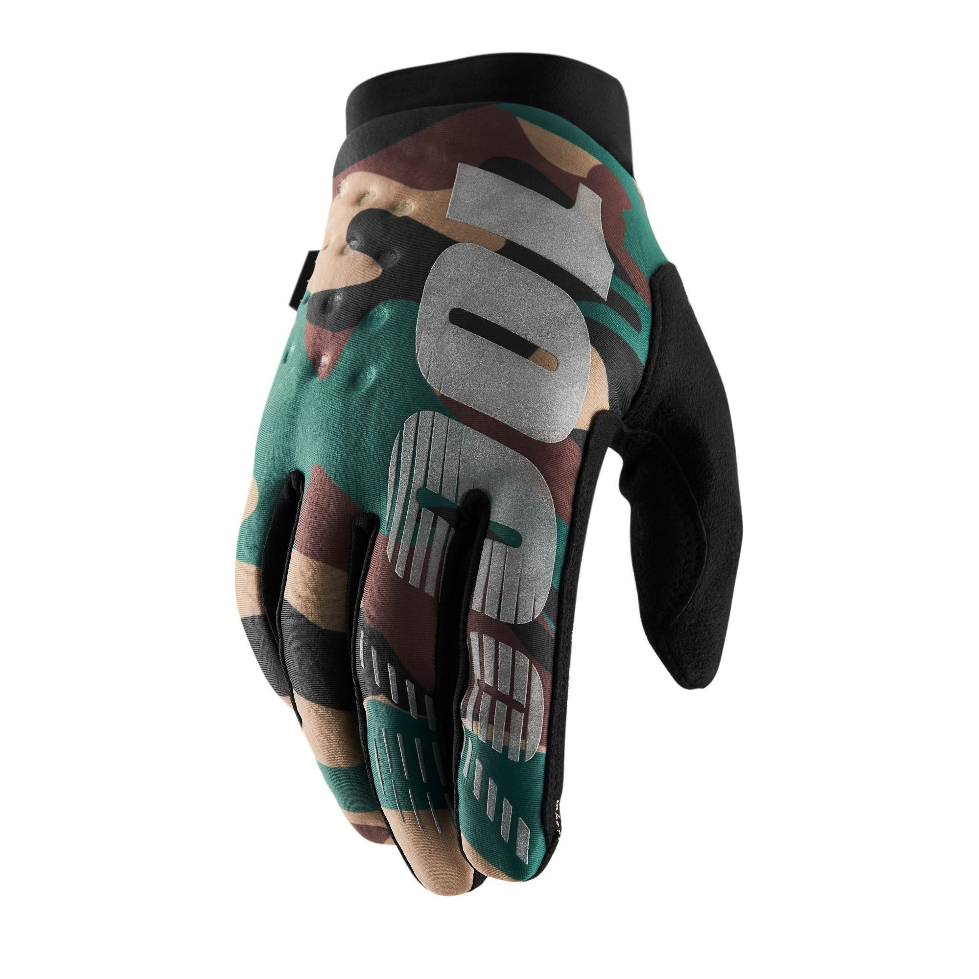 BRISKER 100% Glove Camo/Black