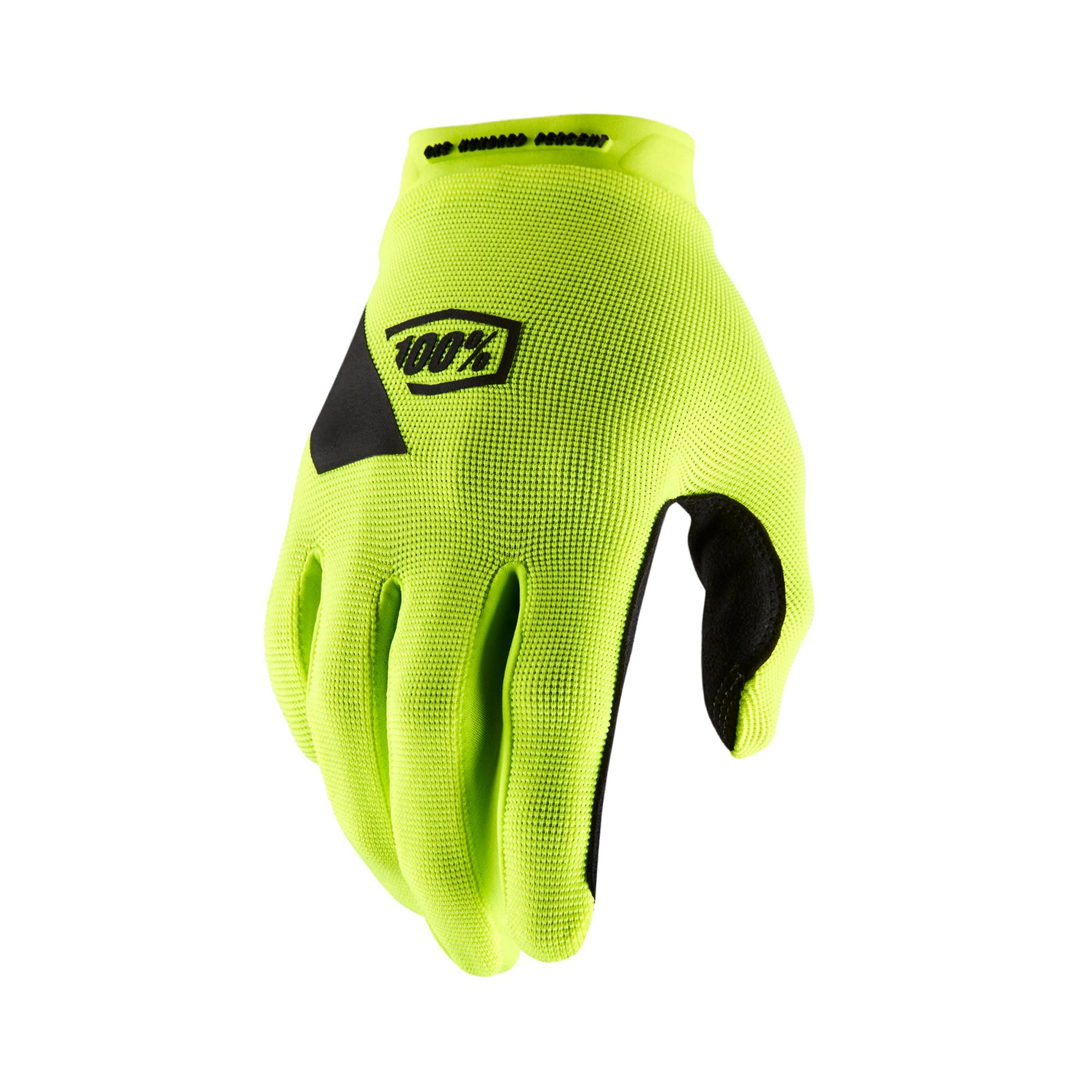 RIDECAMP Glove Fluo Yellow -