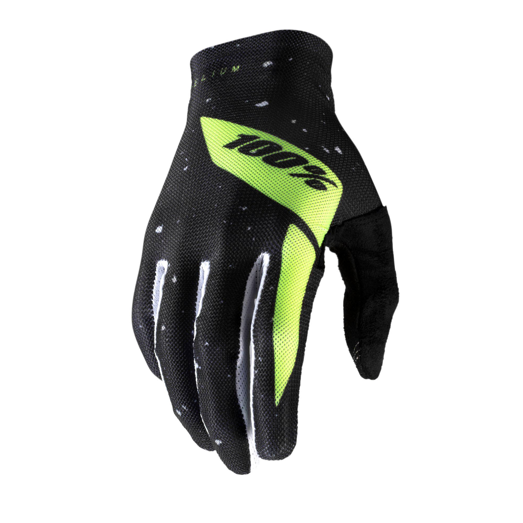 CELIUM Glove Black/Fluo Yellow