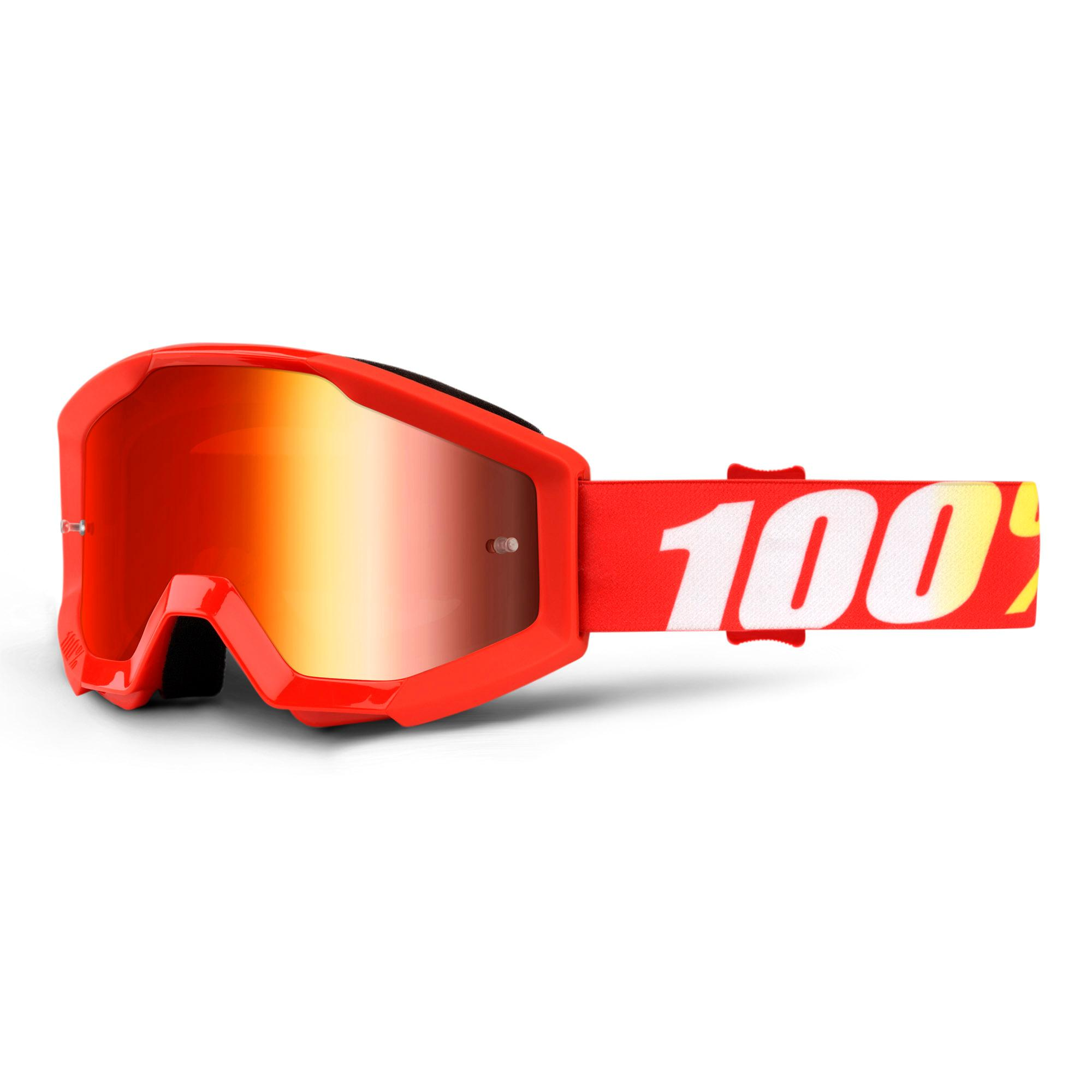 STRATA JR Goggle Furnace - Mirror Red Lens