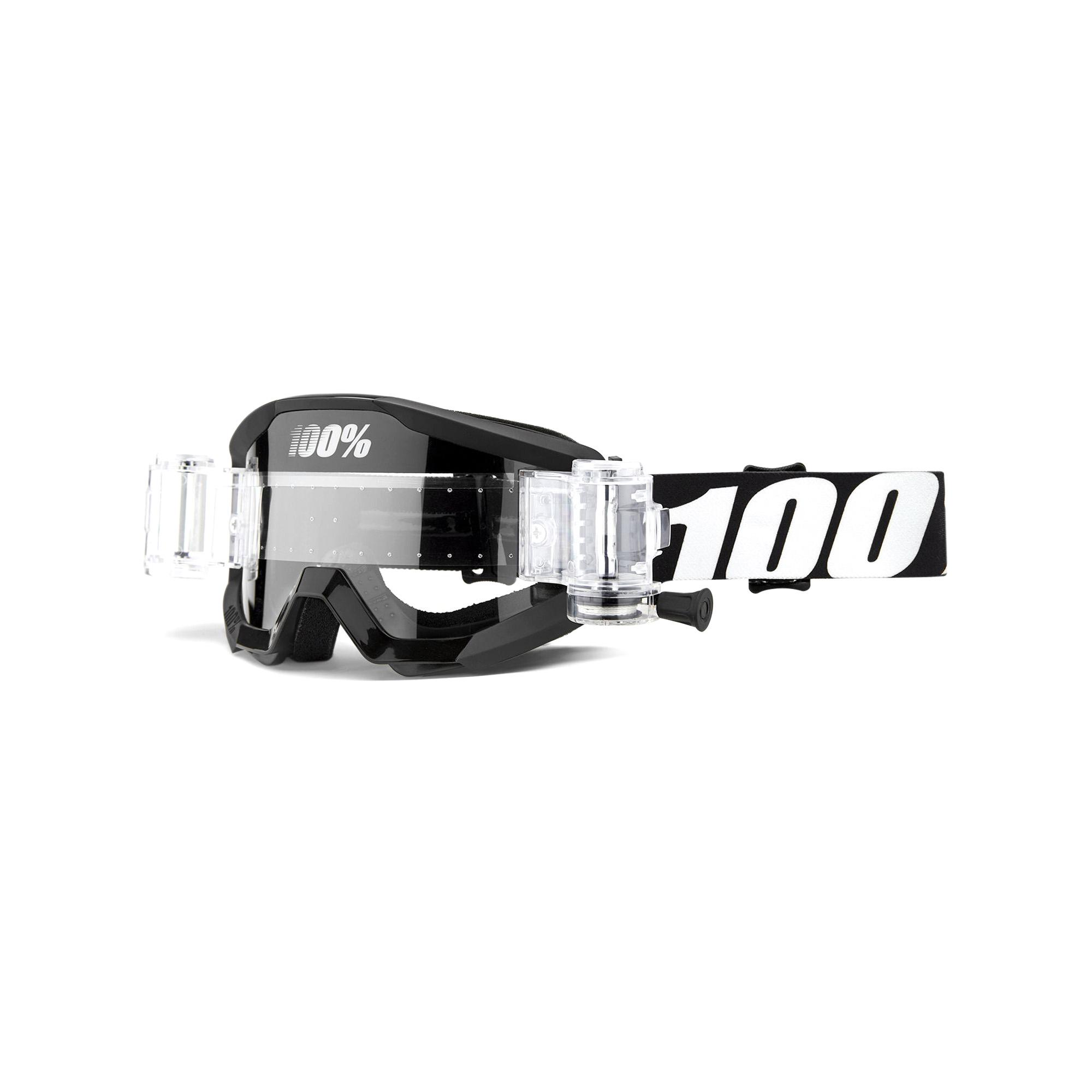 STRATA JR Mud Goggle Outlaw - Clear Lens