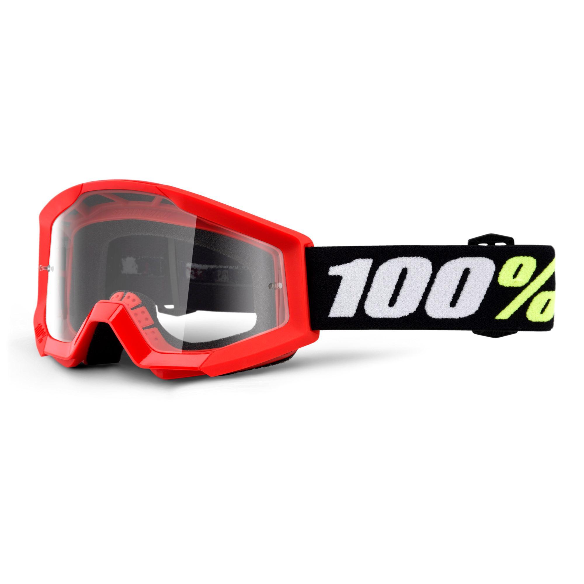 STRATA MINI Goggle Red - Clear Lens