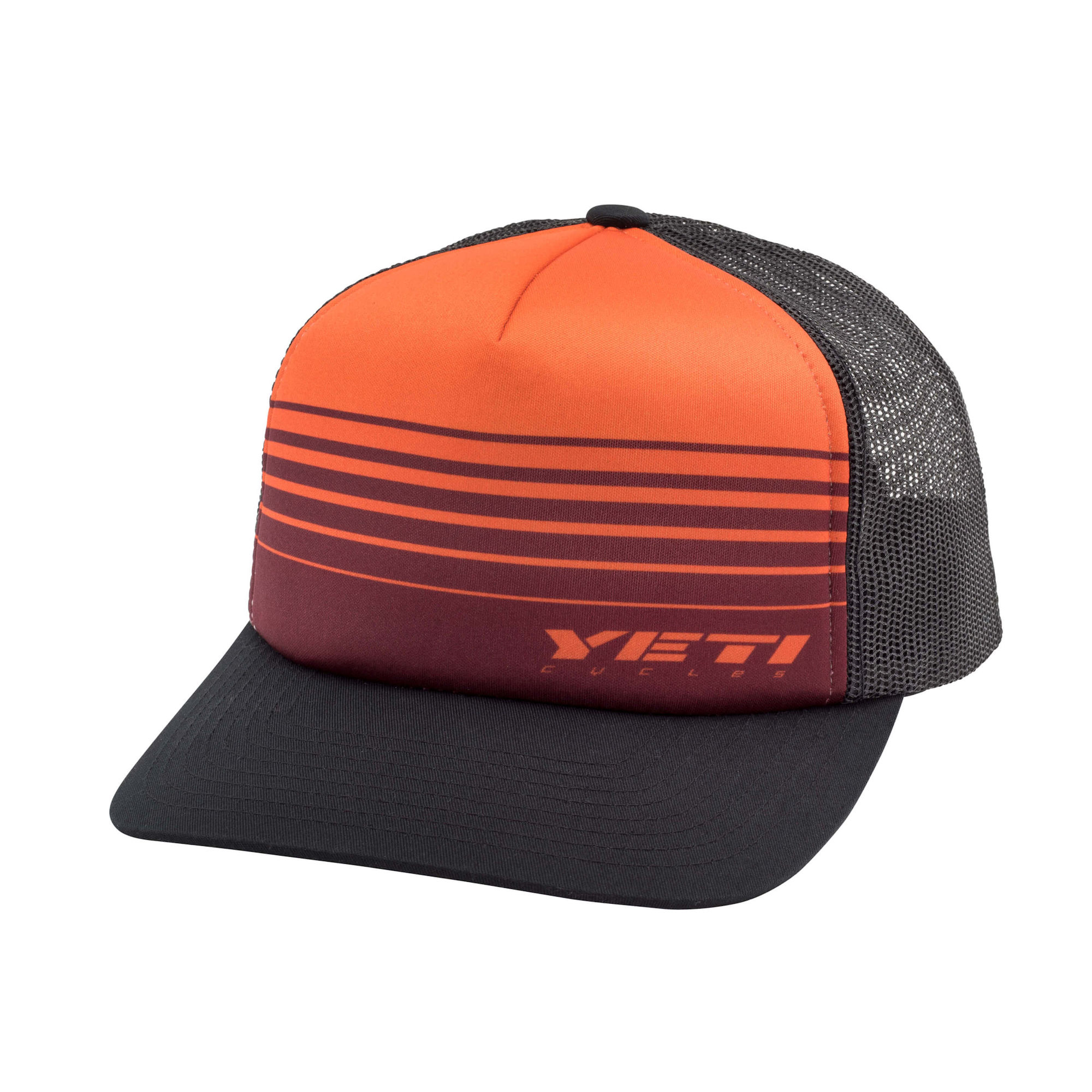 Yeti Race Stripes Foam Trucker Hat Orange   Black. YC200091864. Previous 0704822bec3f